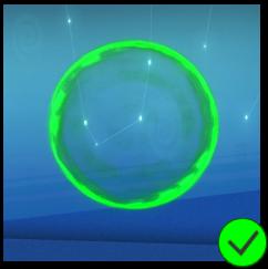 PaC Green Bubble