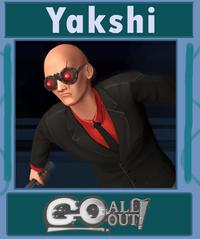 Yakshi character card
