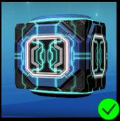Graphite Cyber Cube Blue