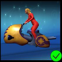 Lady Scarlet Survival Bike