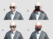 Early vision goggles concept