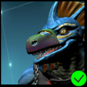 Vaako's Ninja Mask Violet Green
