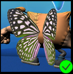 PaC Butterfly Wings