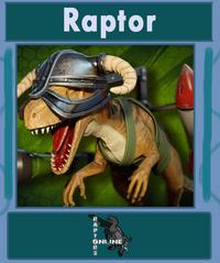 Raptor character