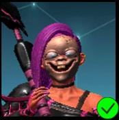 Erica Doll Mask