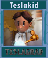 Teslakid character card