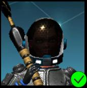 Erica blue space unit Helmet