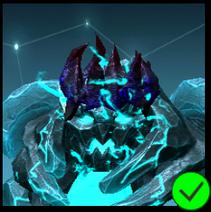 Graphite Cursed Crown