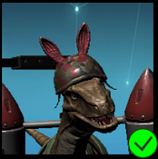 Raptor Animal Milltary Red helmet