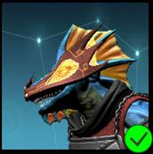 Vaako's Fire Dragon Horn