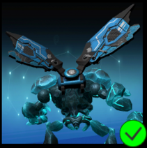 Graphite Cyber Wings Blue