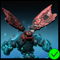 Graphite Cyber Wings Red