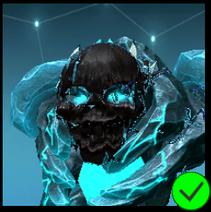 Graphite Darkness mask