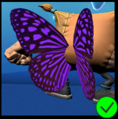 PaC Purple Butterfly Wings