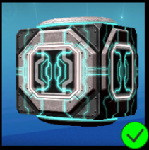 Graphite Cyber Cube Grey