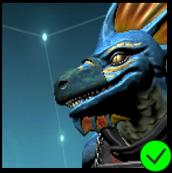 Vaako's Ninja Mask Blue and Green