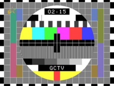 Goan Central Television test card