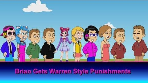 Brian gets Warren Style Punishments