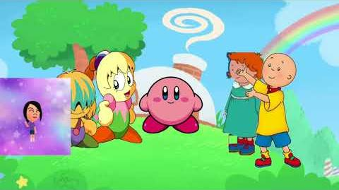 Caillou and Rosie unground Kirby and gets ungrounded
