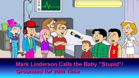 """Mark Linderson Calls the Baby """"Stupid"""" Grounded for 20th Time"""