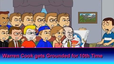 Warren Cook gets Grounded for 10th Time (Reuploaded)