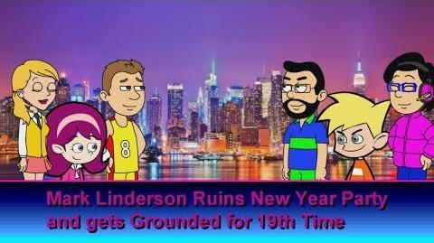 Mark Linderson Ruins New Year Party Grounded for 19th Time