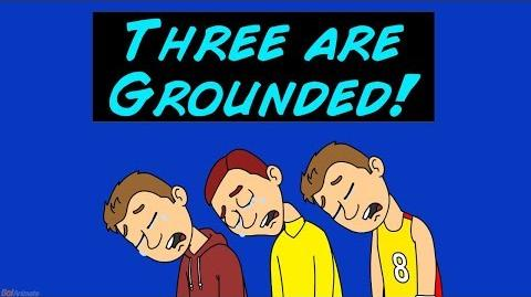 Mark Linderson, Garry Dingo, and Brian Get Grounded