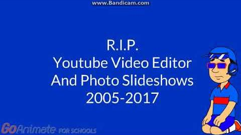 Sad News About Youtube Video Editor And Photo Slideshows