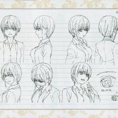 Diseño de Ichika Nakano en el anime #4