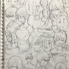 Segundo borrador de Go Toubun no Hanayome.