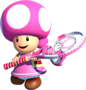 Toadette Tennis