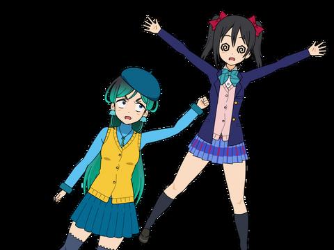 Nico Yuri rekts Nico Yazawa