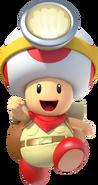 Toad Brigade Captain Toad