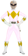 MMPR-White Bandai Beta