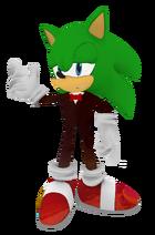 Green Sonic Tuxedo