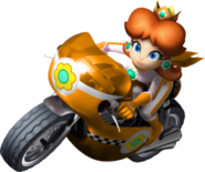 Princess Daisy Bike