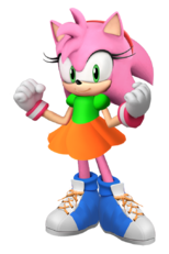 Amy the Pink Hedgehog