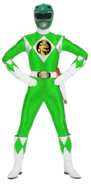RetroMMPR-Green Bandai