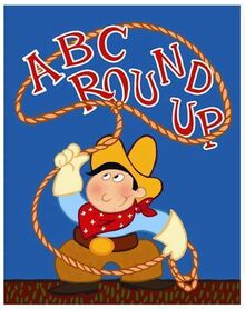 Toy Story ABC Roundup Poster