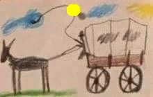 Toy Story 1 Western Wagon Drawing