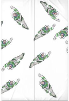 Toy Story 2 Buzz Lightyear-Themed Bedsheet