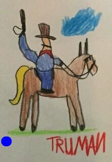 Toy Story 1 Random Cowboy On Horse Drawing