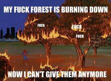 Giving Fucks - Spidey - Fuck Forest