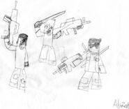 Awesomeadriehl Early Sketch Drawing 1!!