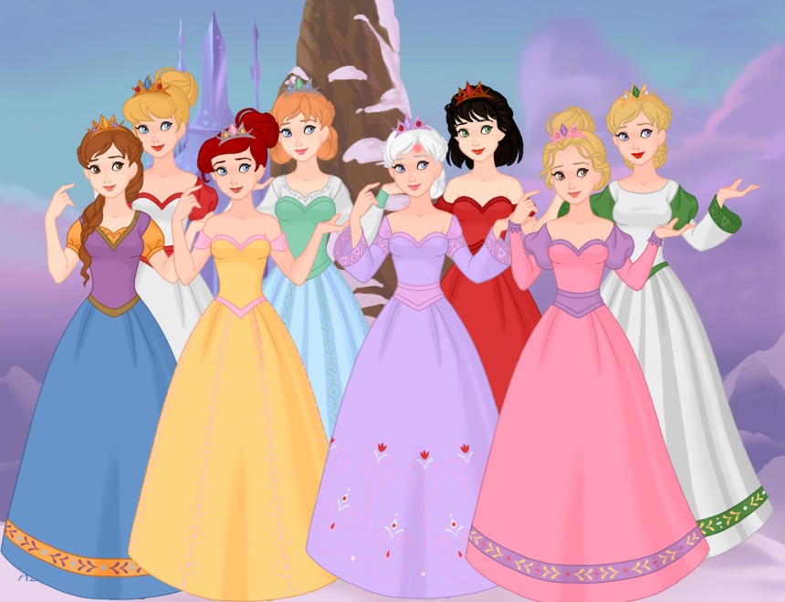 Sarah_West_and_her_7_Non-Disney_Heroines_as_Queens.jpg