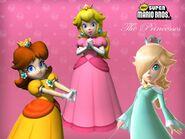 .028 Peach Daisy Rosalina & Zachary