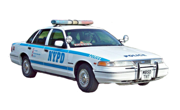 1995 Ford Crown Victoria NYPD Police Car