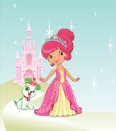 Princess strawberry shortcake by unicornsmile