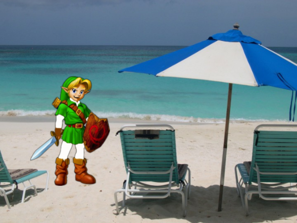 Young Link In Tulsa Beach