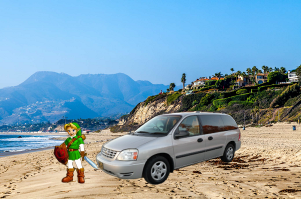 Young Link In Los Angeles Beach